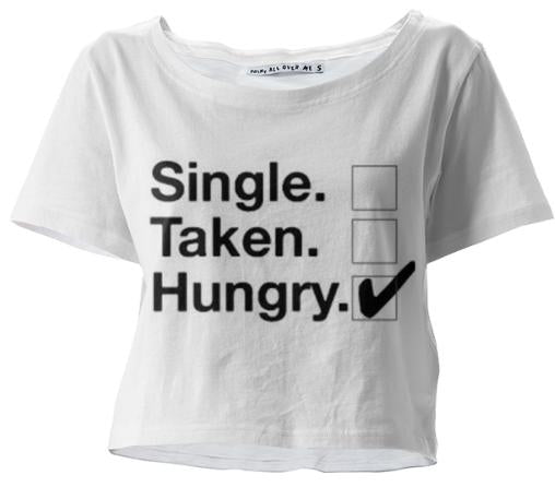 Single No sir just hungry