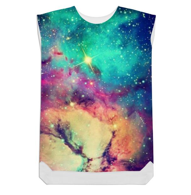 Galaxy shift dress