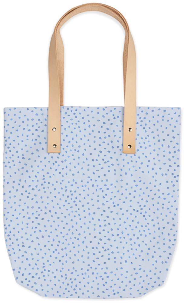Baby Blue Dots Bag
