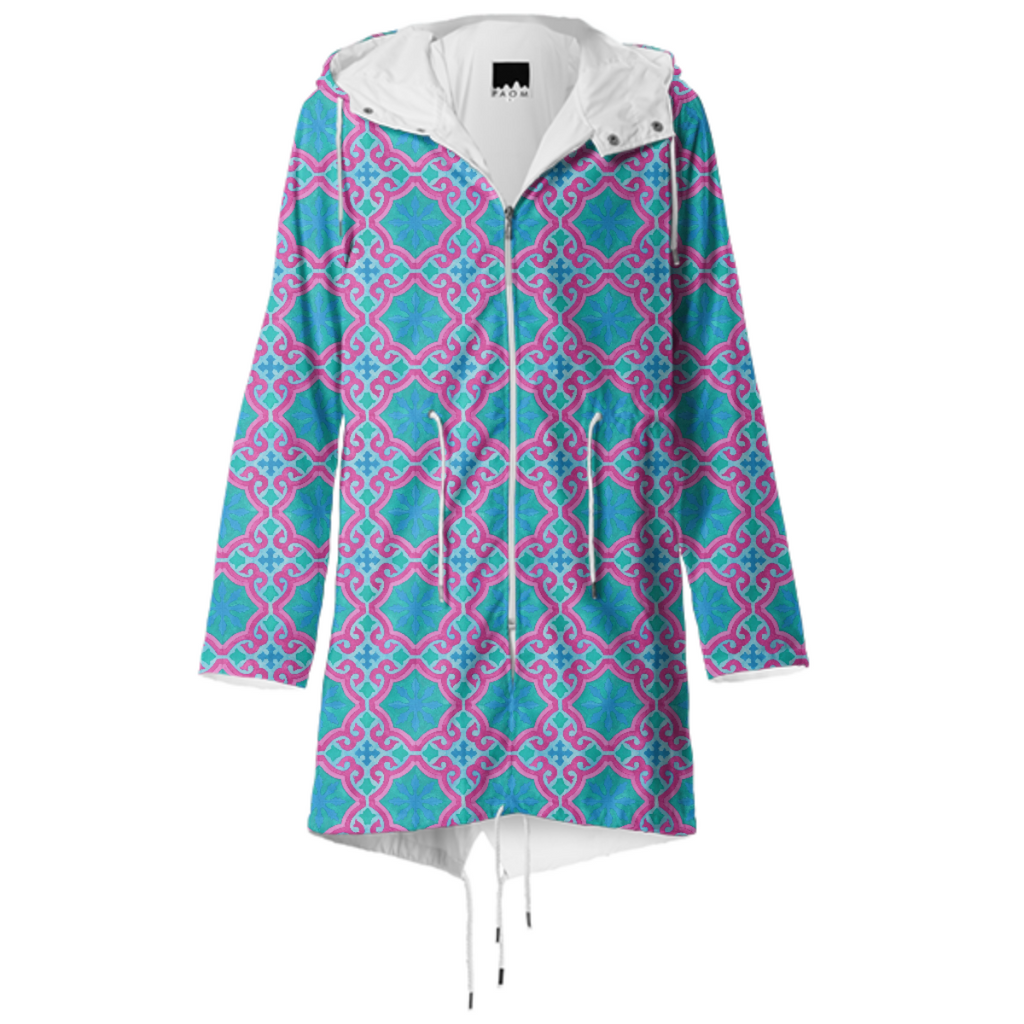 The Moors of Palm Springs Raincoat by Frank-Joseph