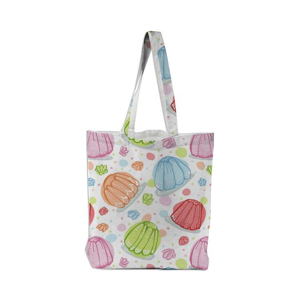 Wibbly Wobbly Jelly Tote Bag