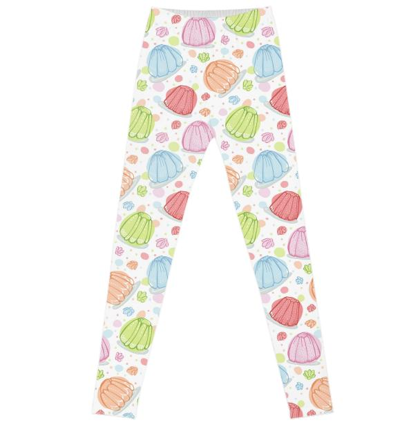 Wibbly Wobbly Jelly Leggings