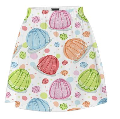 Wibbly Wobbly Jelly Summer Skirt