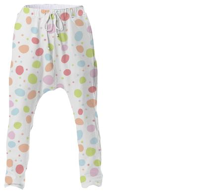Wibbly Wobbly Dots Drop Pant