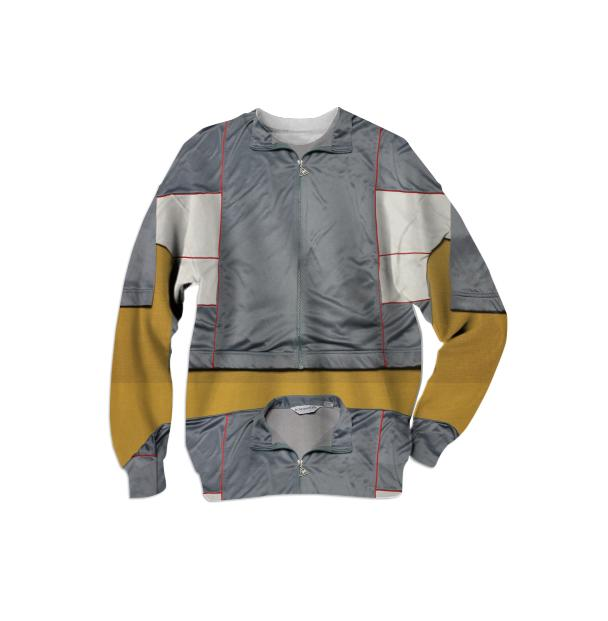 ExtraLayer Sweatshirt in Grey Cold