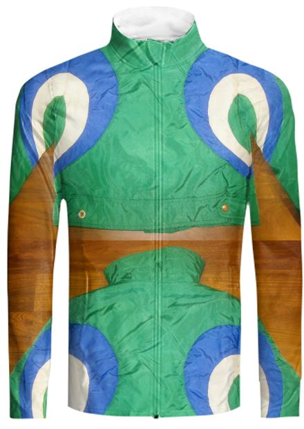 ExtraLayer Tracksuit Jacket in Peacock