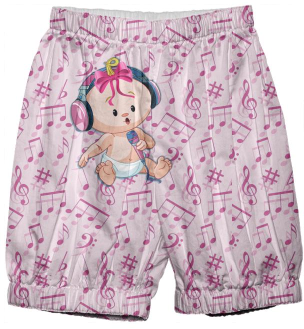 Singing Baby Girl Bloomers