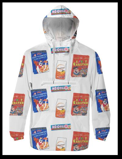 Sad Snacks Windbreaker
