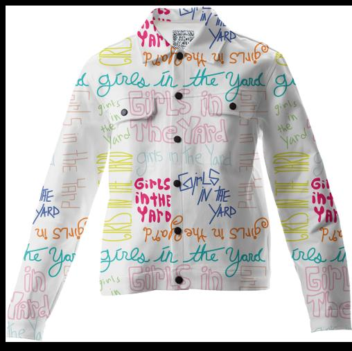 PAOM, Print All Over Me, digital print, design, fashion, style, collaboration, bosco, Twill Jacket, Twill-Jacket, TwillJacket, Girls, The, Yard, autumn winter, unisex, Cotton, Outerwear