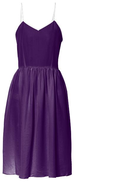 Dark Purple Passion Summer Dress