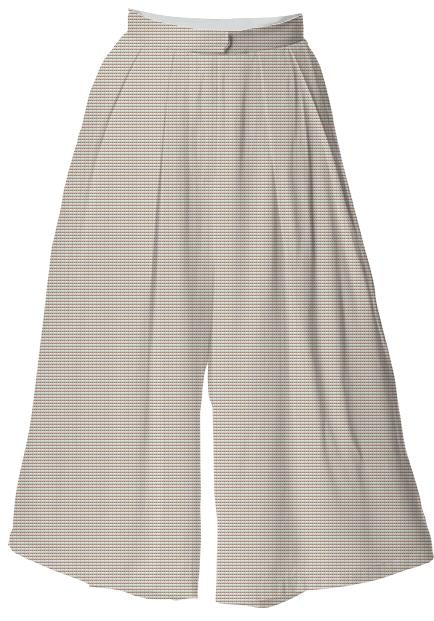WARM TAUPE CULOTTE