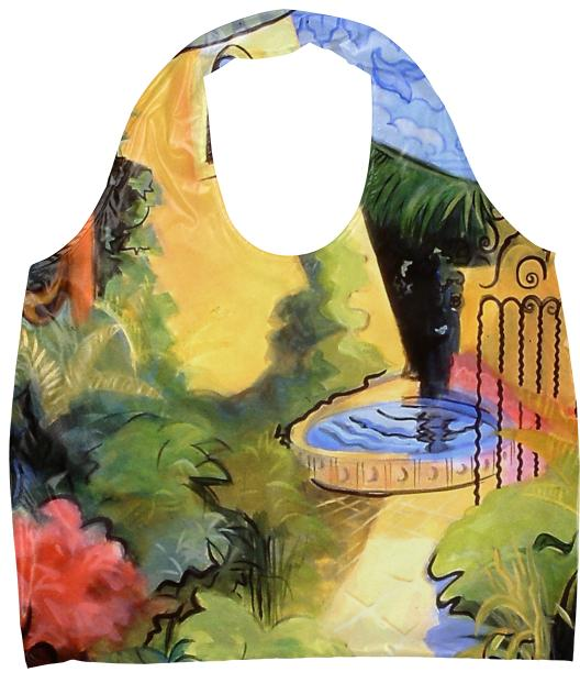 COURTYARD IN BLOOM ECO TOTE