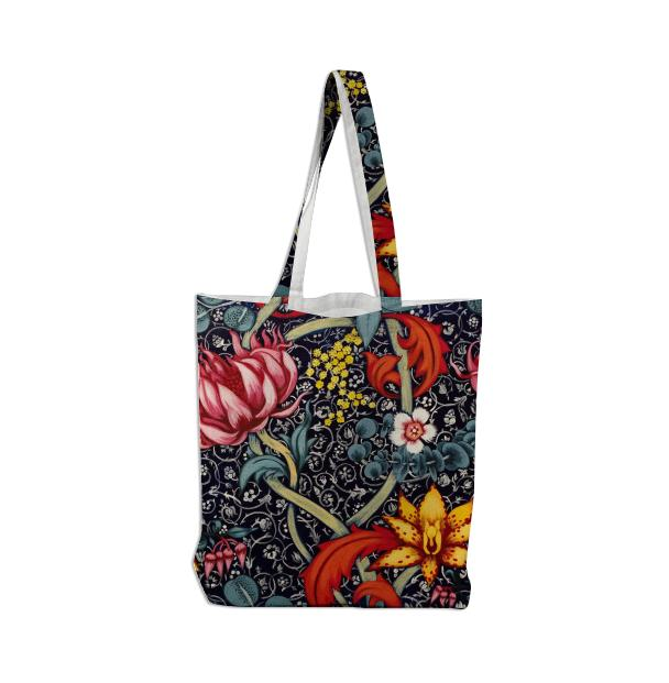 Pink Orchid Tote