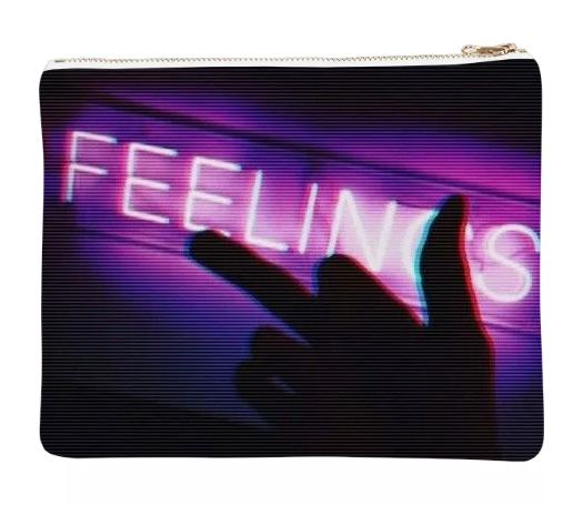 FUCKFEELINGS Neoprene clutch