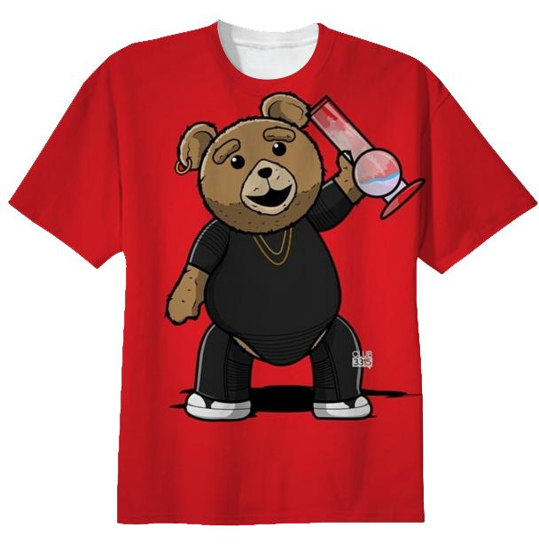Ted swagged up