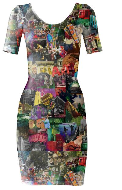 New Orleans Body dress