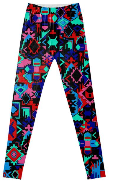 PRINT BINT graphic tapestry leggings