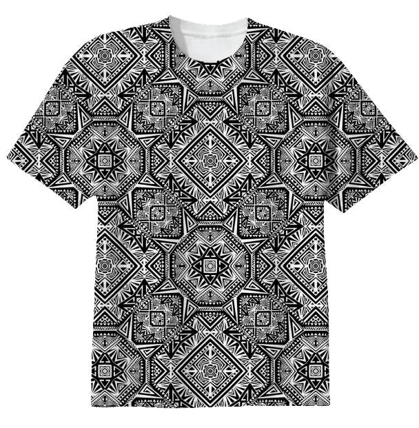 Graphic Persiana Monochrome Tee
