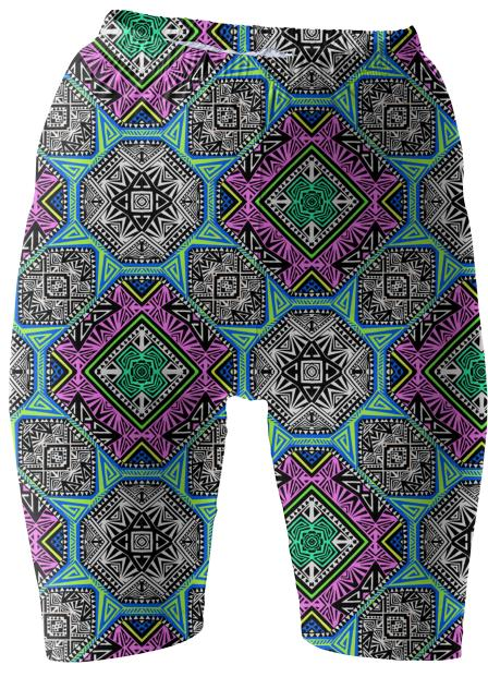 Electric Egypt Shorts