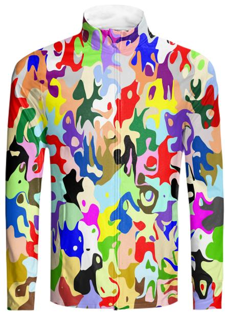 Abstract Art Tracksuit Jacket
