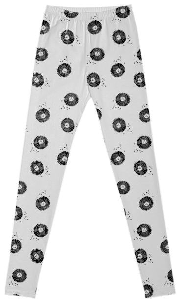 Dandelion wishes leggings