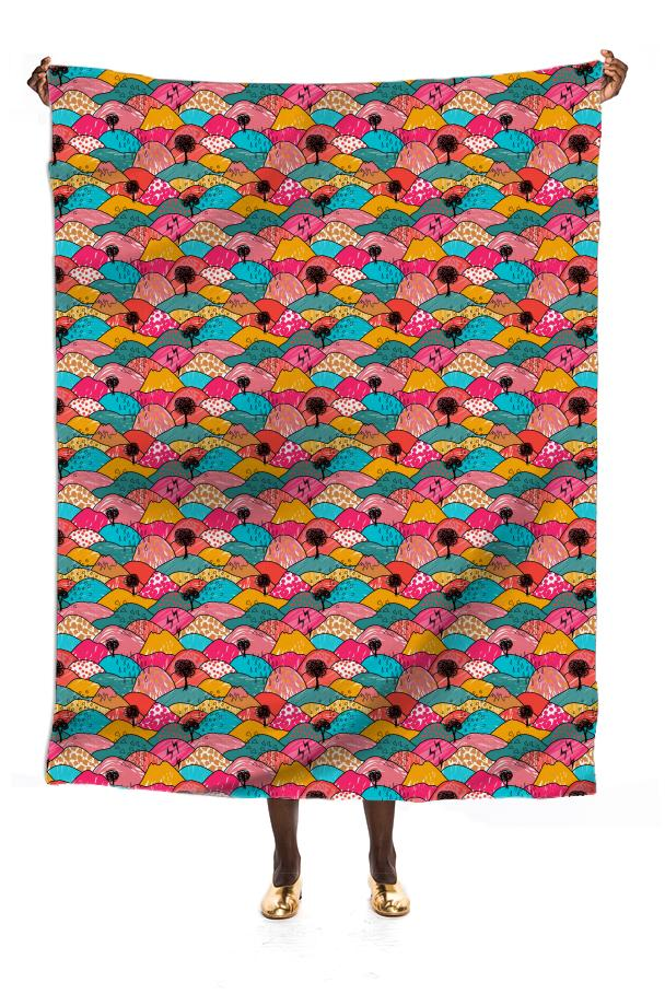 Funky Hills Scarf