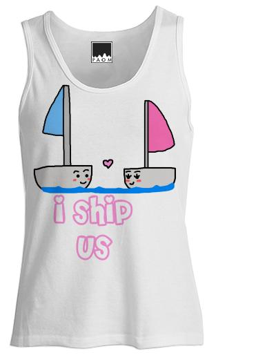 I Ship Us Girls Vest