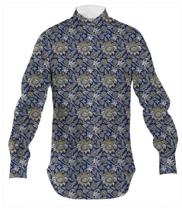 William Morris Sunflower Button Down