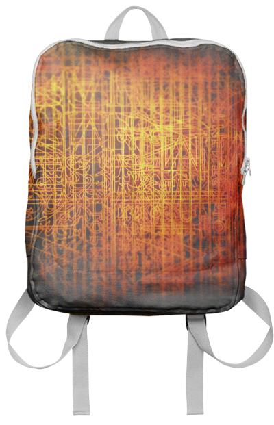 808 orange backpack by Pali