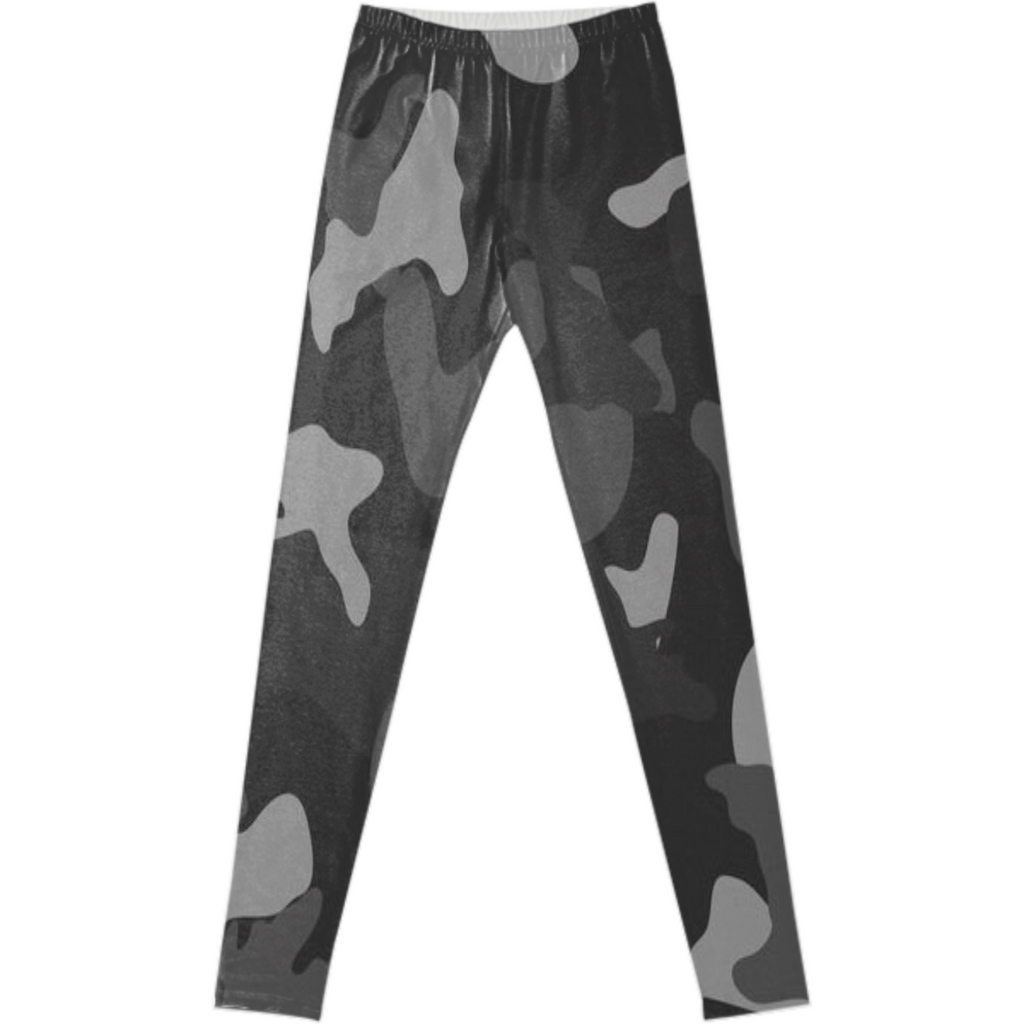 army texture design on leggings