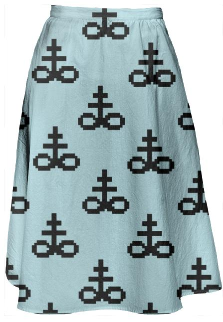 PIXEL OCCULT SKIRT