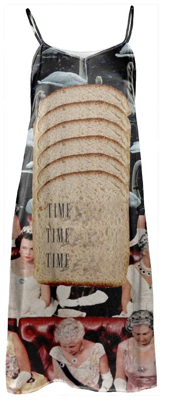 white bread dress