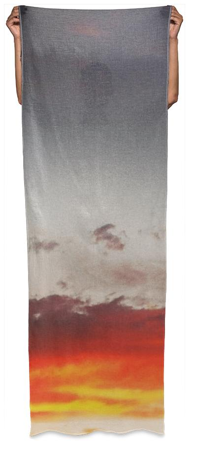 Sunset Clouds Wrap Scarf