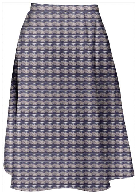 Surfin Santa Cruz Midi Skirt