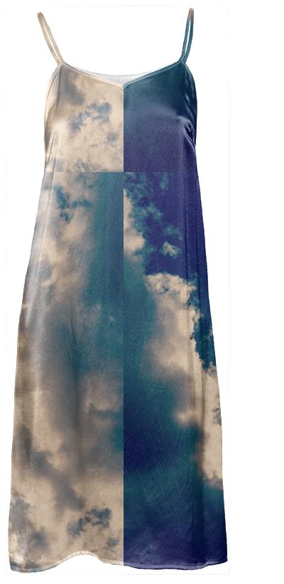 Clouds Slip Dress