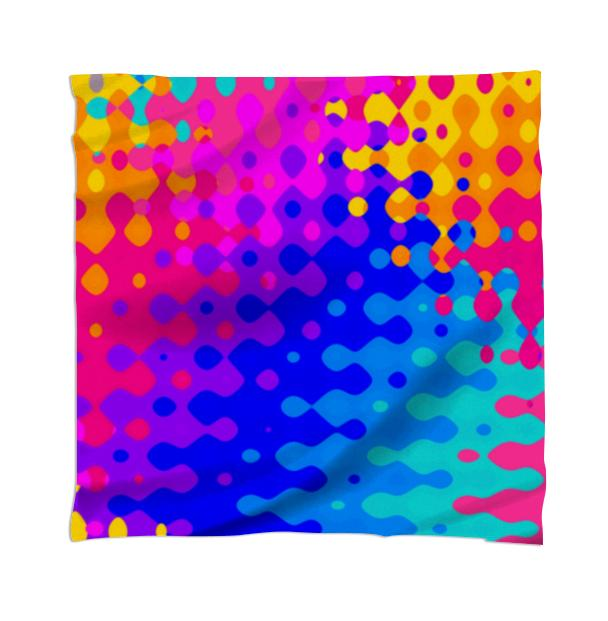 Psychedelic Hippy Pattern Scarf