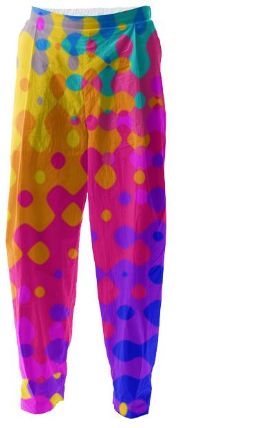 Psychedelic Hippy Pattern Relaxed Pants