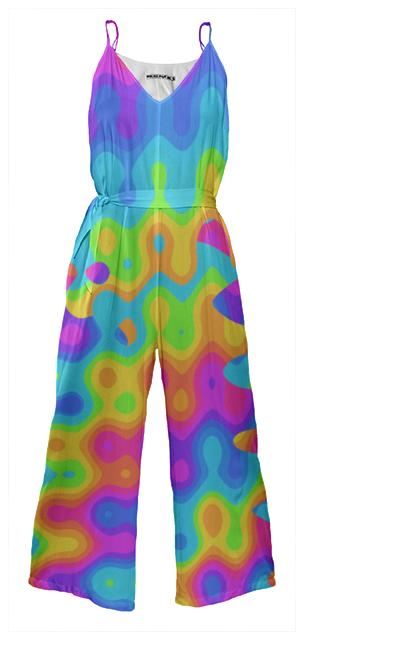 Amazing Acid Rainbow Jumpsuit