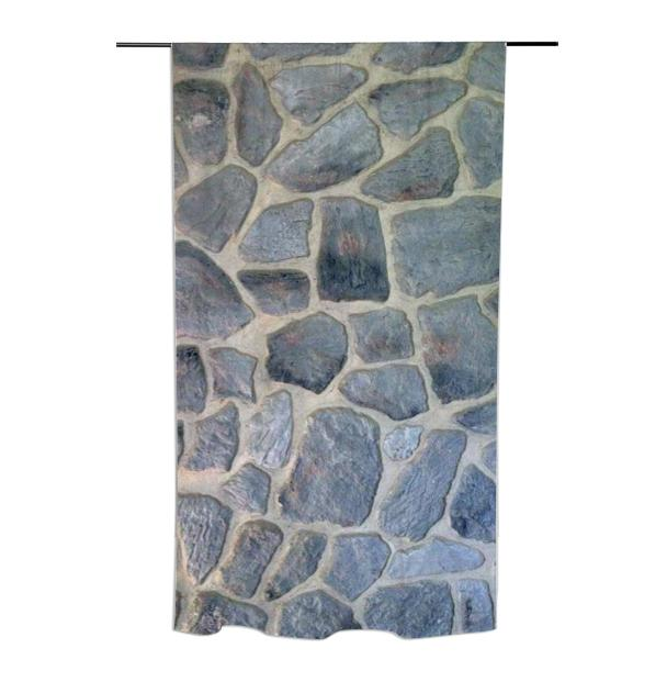 Faux Rock Curtain