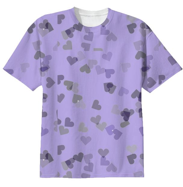 Hearts in Lavender
