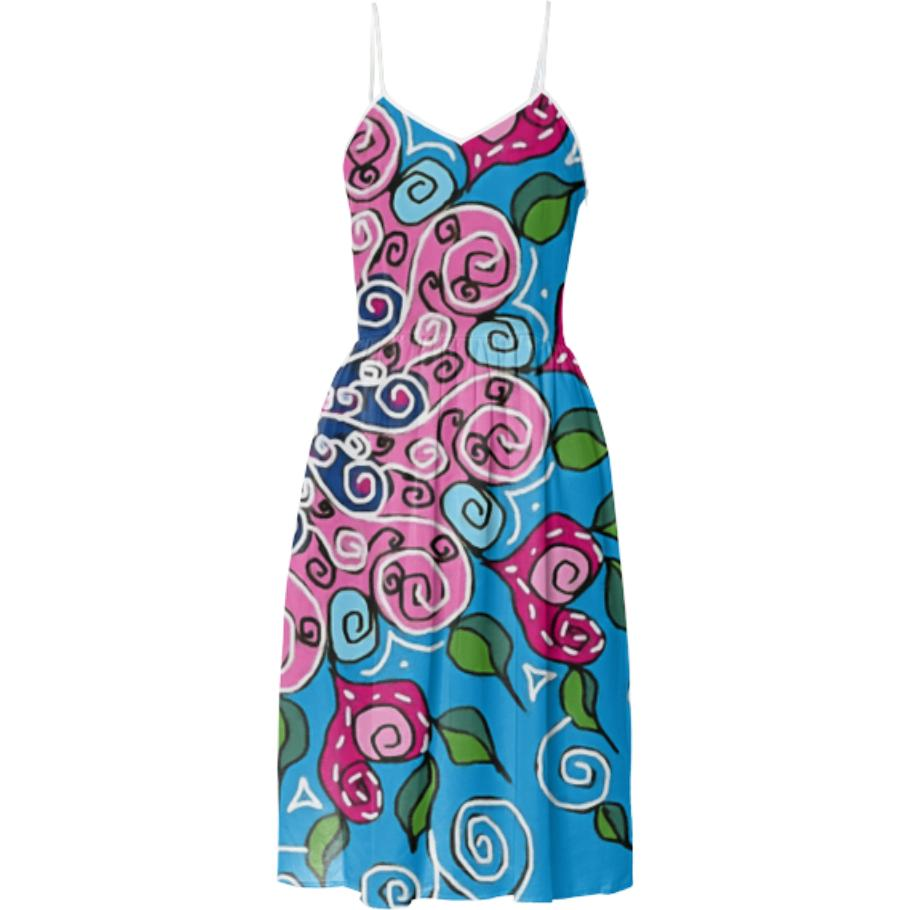 SUMMER DRESS Lovely colorful Design