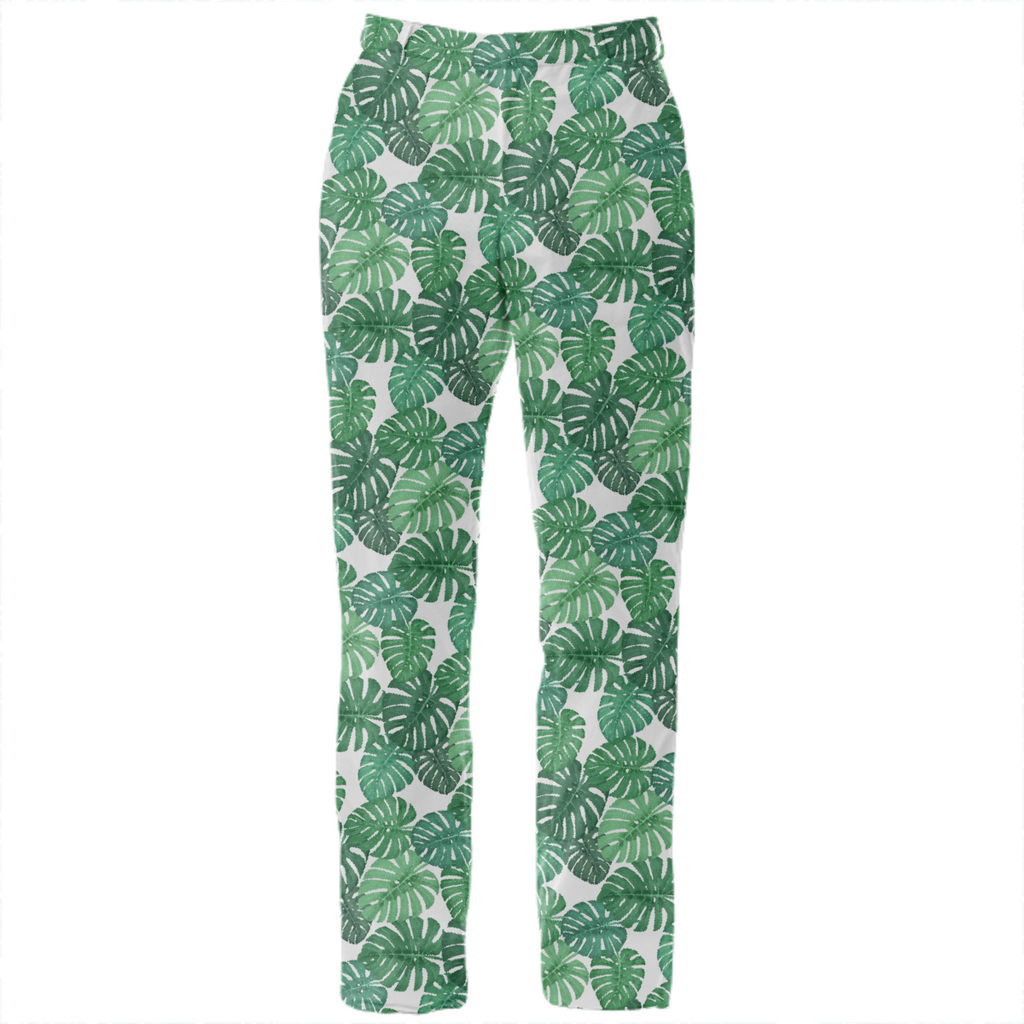 Monstera Jungle Suit Pant by Frank-Joseph