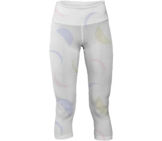 Fading Moons Cropped Leggings