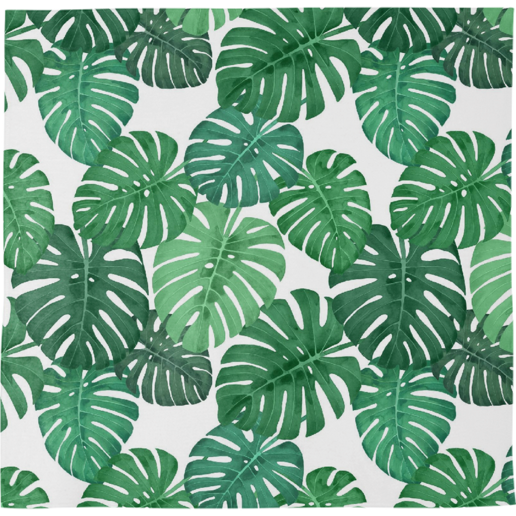 Monstera Jungle Bandana by Frank-Joseph