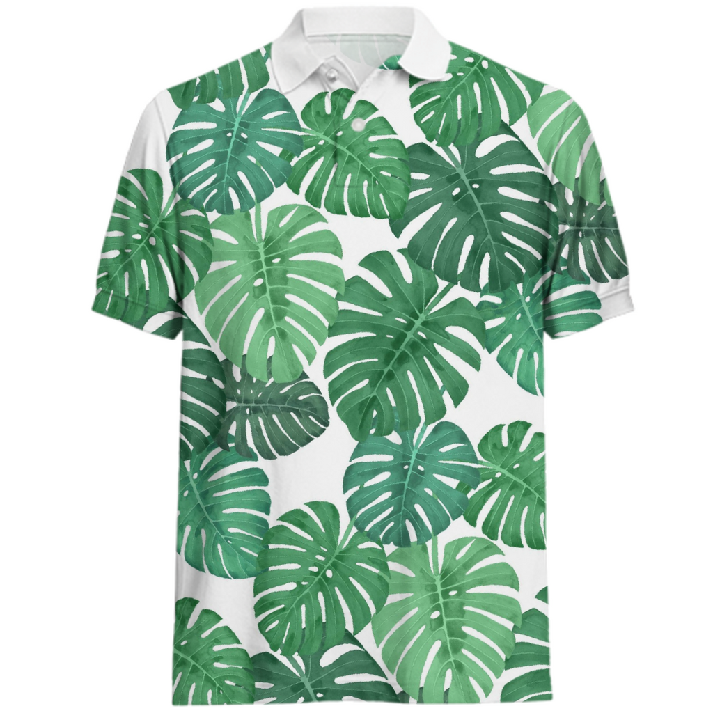 Monstera Jungle Polo by Frank-Joseph