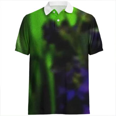 Abstract Bouquet Polo Shirt