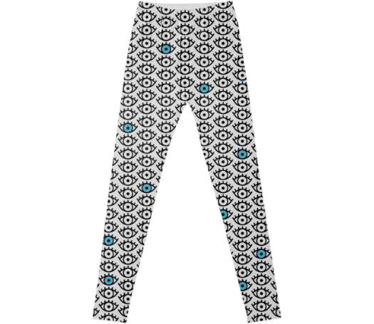Blue Eye Leggings