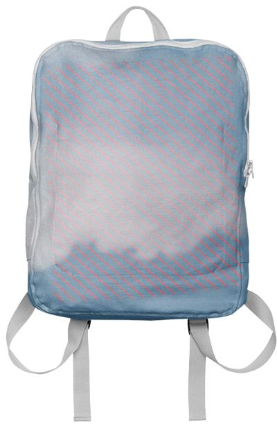 Cloud Stripe Backpack