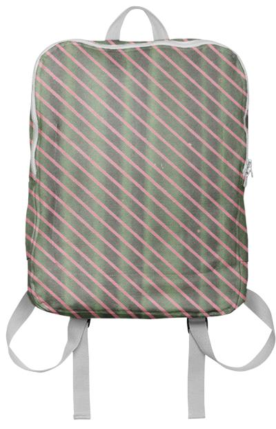 Curtain Stripe Backpack