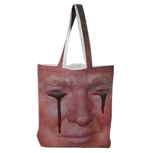 Period Gear Blood Coming Out of Trump s Eyes